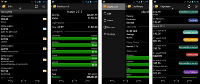 CashControl Android 2.0