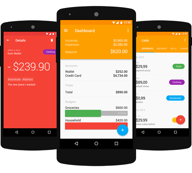 CashControl Android 3.0
